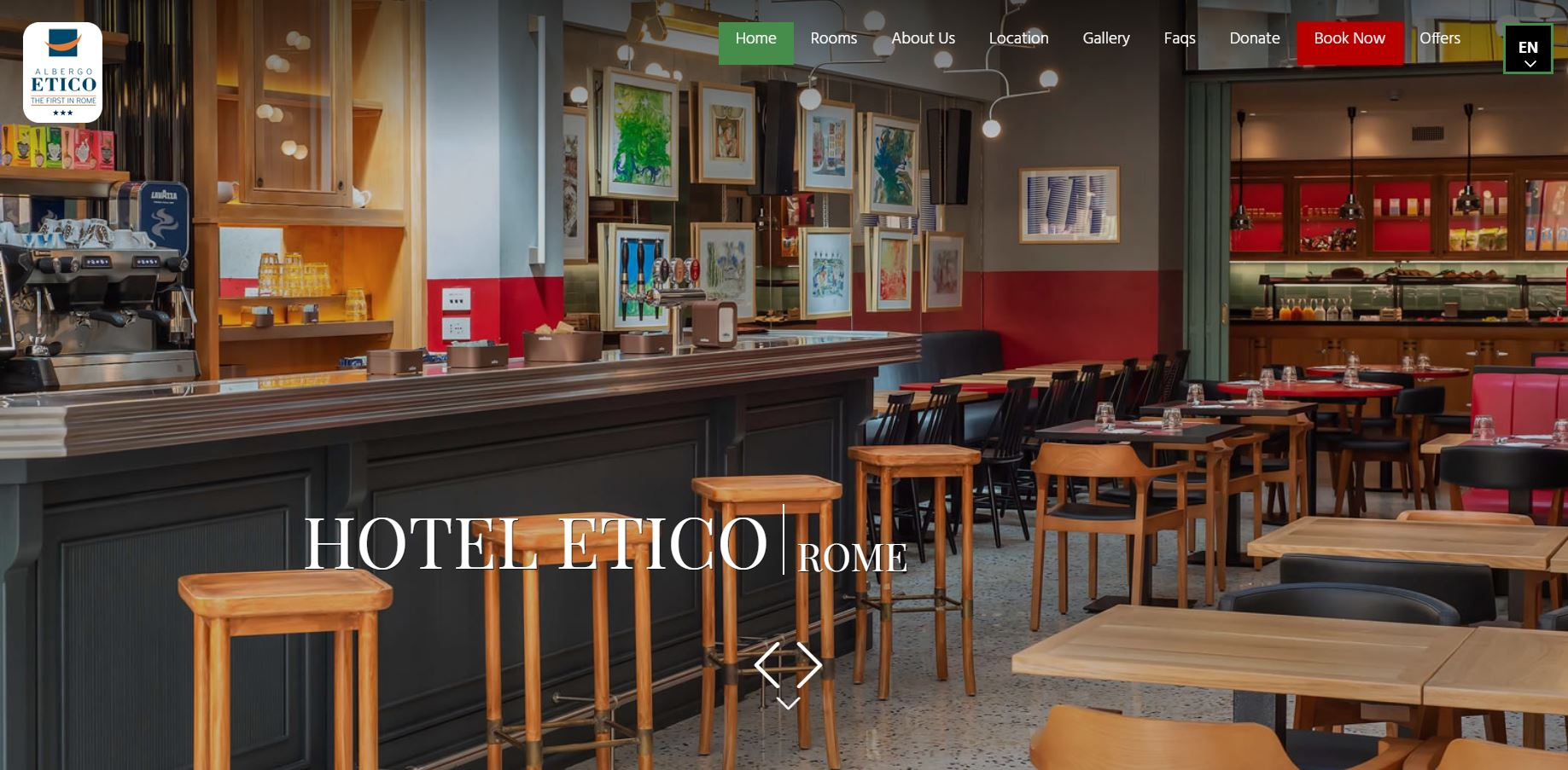 Hotel Etico - HotelVia Giuseppe Pisanelli, 39 - Roma